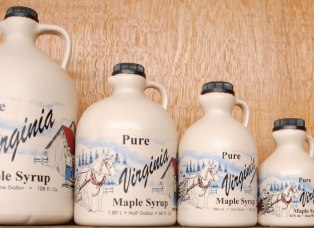 maple syrup sizes